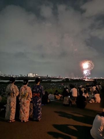 江戸川区花火大会